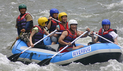KIULU WHITE WATER RAFTING (GRADE 1 & 2)